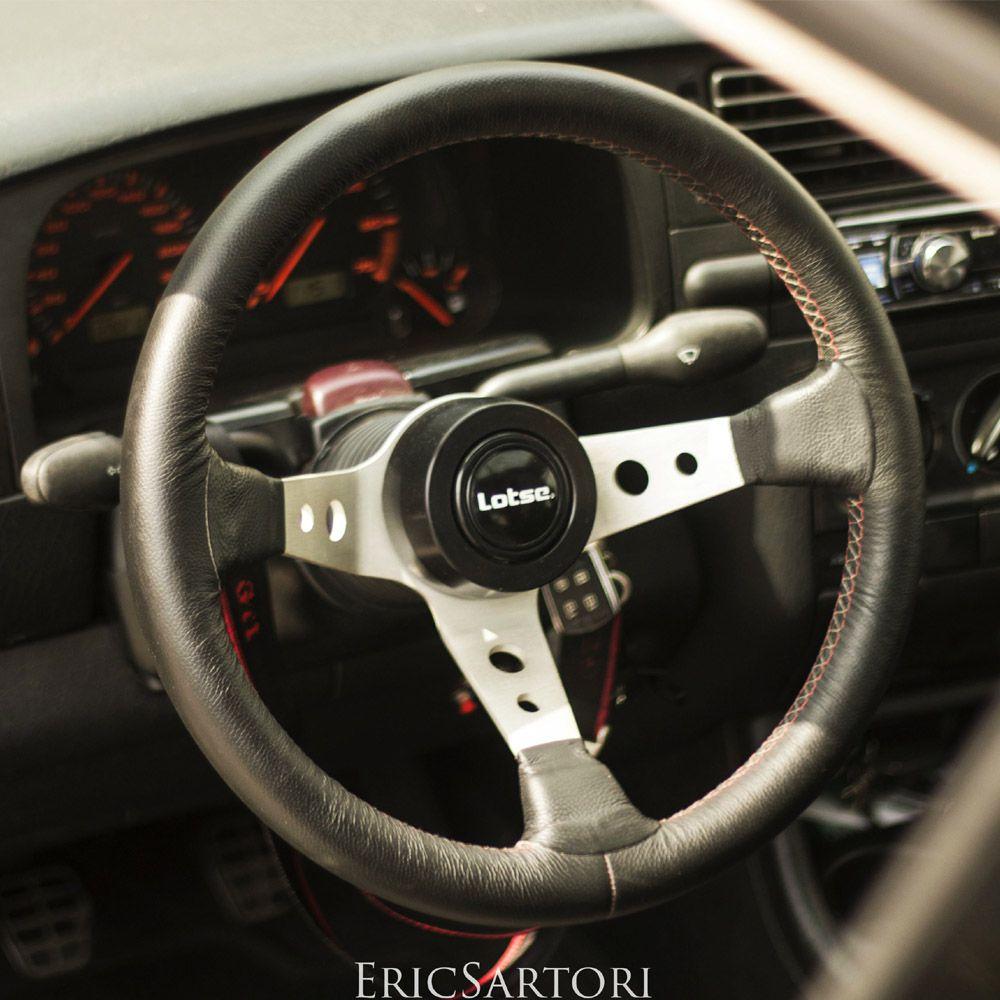 Volante Esportivo Lotse GTi VW Euro com Cubo Adaptador