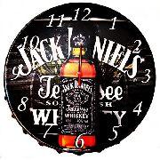 Relógio Parede Whisky Jack Daniels Feito Em Aço 43 Cm