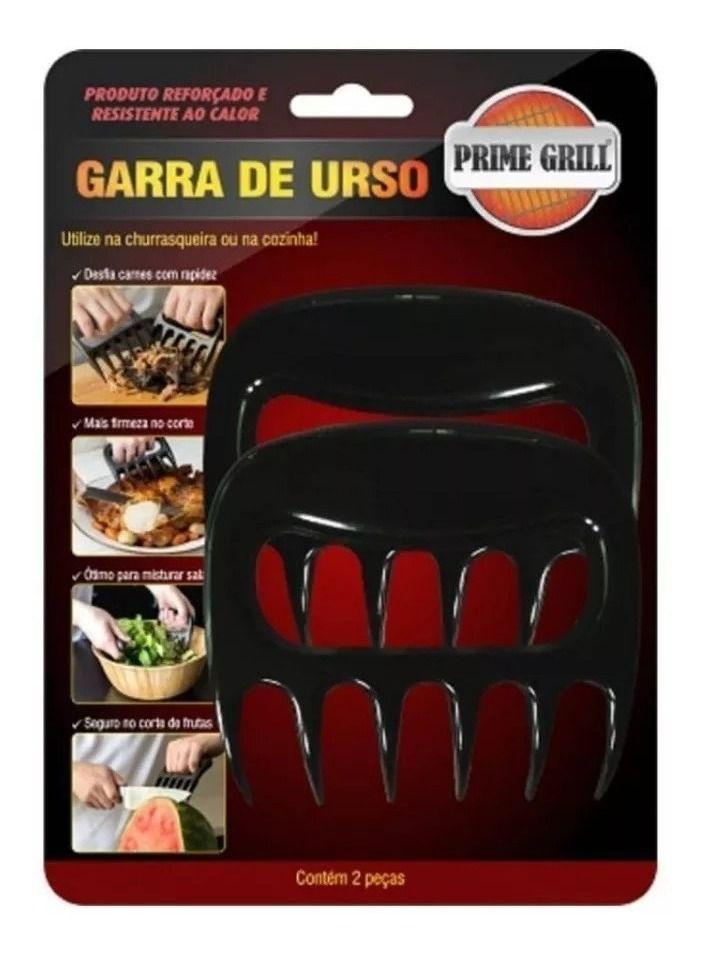 2 Garras De Urso Churrasco Prime Grill