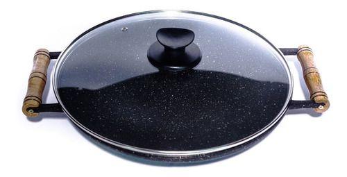 Tacho Antiaderente Marmorizado 32 Cm Especial Para Paella