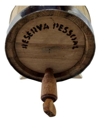 Dorna Ancorote Para Bebida 2,5 Litros Redondo Madeira Amburana
