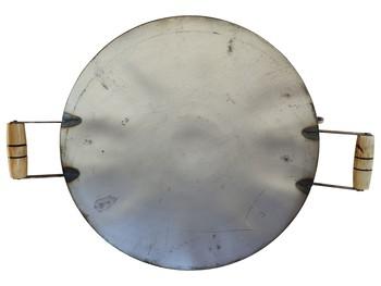 Fogareiro Cabeça De Botijão A Gás Alta Pressão 4 Caulins E Disco Tipo Arado