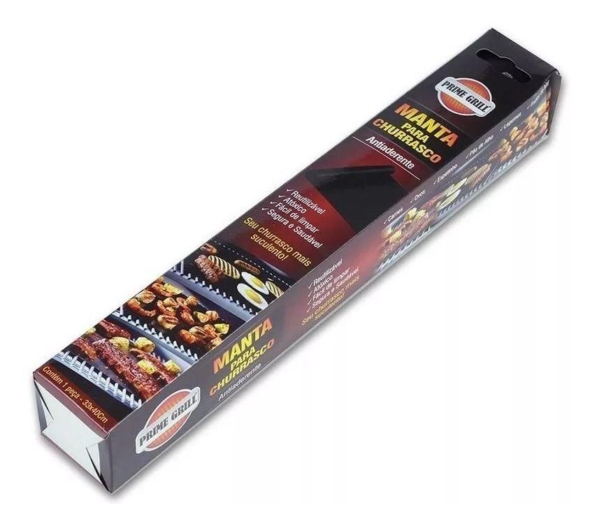 Manta Antiaderente Para Churrasco 33 X 40 Cm Prime Grill