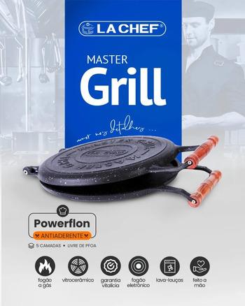 Master Grill Panela Antiaderente Multifuncional