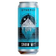 Cerveja Synergy Snow Wit Lata 473 ml