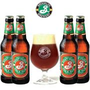 Kit de Cervejas Brooklyn Ipa com Taça 330 ml