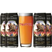 Kit de Cervejas Trooper com Copo Pint 500 ml