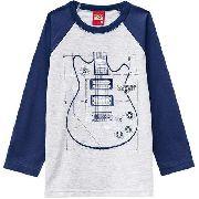 Camiseta Infantil Kyly Menino Manga Longa