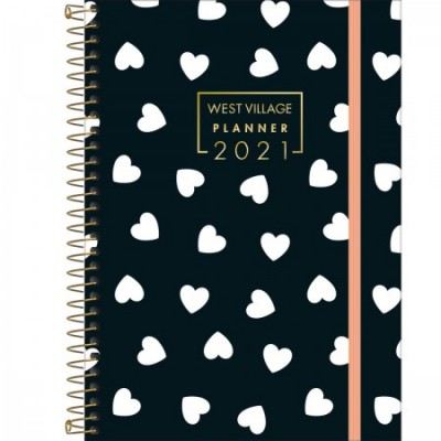 Planner West Village Pequeno Tilibra