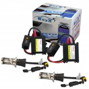 Kit Xenon H4 Bi-Xenon 8000K Com Reator Digital HID