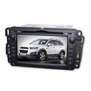 Central Multim�dia Chevrolet Captiva 2009 � 2014 Com DVD GPS Mapa Bluetooth MP3 USB Ipod SD Card C�m