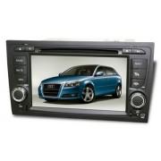 Central Multim�dia Aikon / Winca Audi A3 - 2006/2013 Com DVD GPS Mapa Bluetooth MP3 USB Ipod SD Card