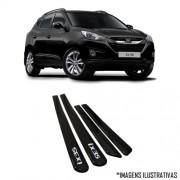 Jogo Friso Lateral Pintado Hyundai IX35 2010 2011 2012 2013 - Cor Original