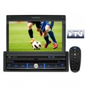 Central Multimidia Positron SP6700DTV Retratil Tv Digital c/ Tela 7� Entrada Auxiliar Frontal e USB