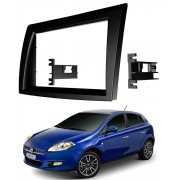 Moldura De Painel Para CD DVD 2 Din Fiat Bravo -  Todos At� 2014 - Para CD DVD  Player