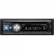CD Player Automotivo 1 Din Alpine CDE-133bt Tela LCD 3 Polegadas Com Entrada USB, Bluetooth Avan�ado