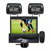 Dvd Player Automotivo Retr�til Positron SP6700DTV Tela 7 Polegadas Com Entrada USB, Entrada Auxiliar