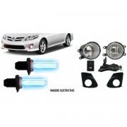 Kit Farol de Milha Neblina Toyota Novo Corolla 2012 / 2013 / 2014 - Interruptor Similar Ao Original