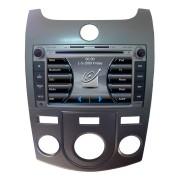 Central Multim�dia Caska Smart Kia Cerato 2009 2010 2011 2012 2013 Com DVD GPS Bluetooth USB Ipod SD