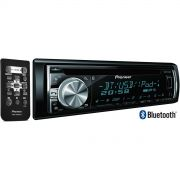 Som Automotivo CD Player Pioneer DEH-X6680BT Com Bluetooth 3.0 Mixtrax Android - Entrada Auxiliar e