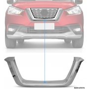 Aplique Cromado Grade Central Frontal Nissan Kicks PCD