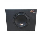 """Caixa Amplificada Dab Audio 8"""" Trapézio 200W RMS - CX8A"""