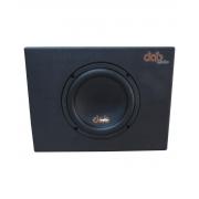"Caixa Passiva Dab Audio 8"" Trapézio 200W RMS 4 OHMS - CX8P4"