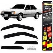 Calha Chuva Defletor TG Poli Chevrolet Monza 1984 À 1996 4 Portas