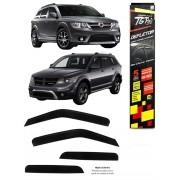 Calha Chuva Defletor TG Poli Fiat Freemont 2011 à 2016 Dodge Journey 2008 à 2016 4 Portas