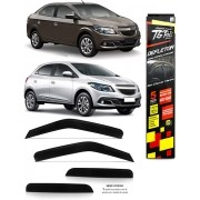 Calha Chuva Defletor TG Poli Chevrolet Onix/ Prisma 2012 á 2019 Joy 2020 2021 - 4 Portas