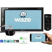 """DVD Player Automotivo 2 Din Pioneer AVH-Z5280TV Tela 6,8"""" Polegadas Com TV Digital Bluetooth Entrada USB Mixtrax Entrada Auxiliar MP3 e TouchScreen + Câmera de Ré"""