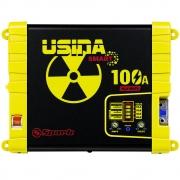 Fonte Carregador Automotiva Usina 100A Battery Meter
