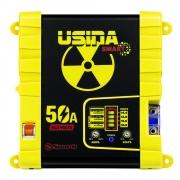 Fonte Carregador Automotiva Usina 50A Plus Battery Meter