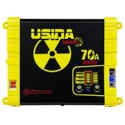 Fonte Carregador Automotiva Usina 70A Plus Battery Meter