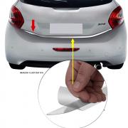 Friso Cromado Resinado Traseiro Porta Mala Peugeot 208