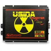 Inversor de Tensão Senoidal Usina Inverter 500W 12 Volts - 220V