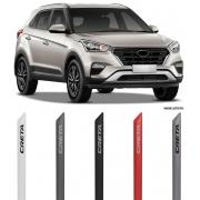 Jogo Friso Lateral Pintado Hyundai Creta - Cor Original