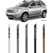 Jogo Friso Lateral Pintado Renault Duster - Cor Original