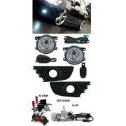 Kit Farol de Milha Neblina Citroen C4 à 2012 e C4 Pallas 2008 à 2012 + Kit Xenon 6000K / 8000K ou Kit Lâmpada Super LED 6000K