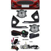 Kit Farol de Milha Neblina Ford Fiesta 2019 + Kit Xenon 6000K 8000K ou Kit Lâmpada Super LED 6000K