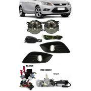 Kit Farol de Milha Neblina Ford Focus - 2009 2010 2011 2012 2013 + Kit Xenon 6000K 8000K ou Kit Lâmpada Super LED 6000K
