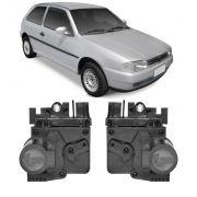 Kit Trava Eletrica Tragial VW Gol G2 G3 G4 1996 1997 1994 1995 1996 1997 1998 1999 2000 2001 2002 2003 2004 2005 2006 2007 2008 2009 - Mono Serventia 2 Portas