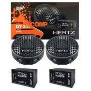Kit Tweeter Hertz Dieci DT 24.3 80W + Crossover