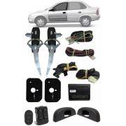 Kit Vidro Elétrico Gm Corsa Classic Sedan Hatch 4 Portas Dianteiro Sensorizado Positron