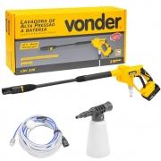 Lavadora de Alta Pressão a Bateria Vonder LBV200 150 Litros Universal