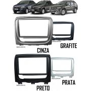 Moldura Painel 2 Din Fiat Palio Weekend Siena EL Strada Adventure 2012 Em Diante