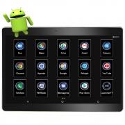 "Monitor Encosto de Acoplar 10"" Polegadas Android Full Touch USB H-Tech"
