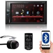 """Multimídia 2 Din Pioneer DMH-G228BT Tela 6,2"""" Polegadas Com Bluetooth Entrada USB Entrada Auxiliar e TouchScreen + Câmera de Ré"""