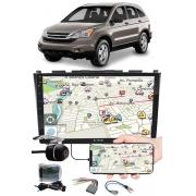 """Multimídia 9"""" Polegadas Honda CRV 2008 à 2011 Espelhamento USB Bluetooth + Moldura Painel + Interface Volante + Chicotes + Câmera de Ré"""