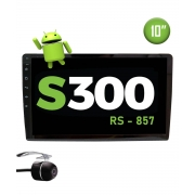 "Multimídia Android S300 10"" TV FULL HD + Câmera Borboleta"